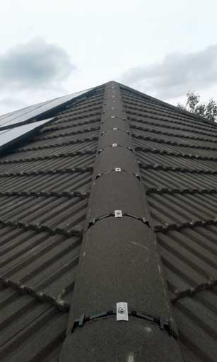 image showing roof repairs for a roof in Warley near Halifax