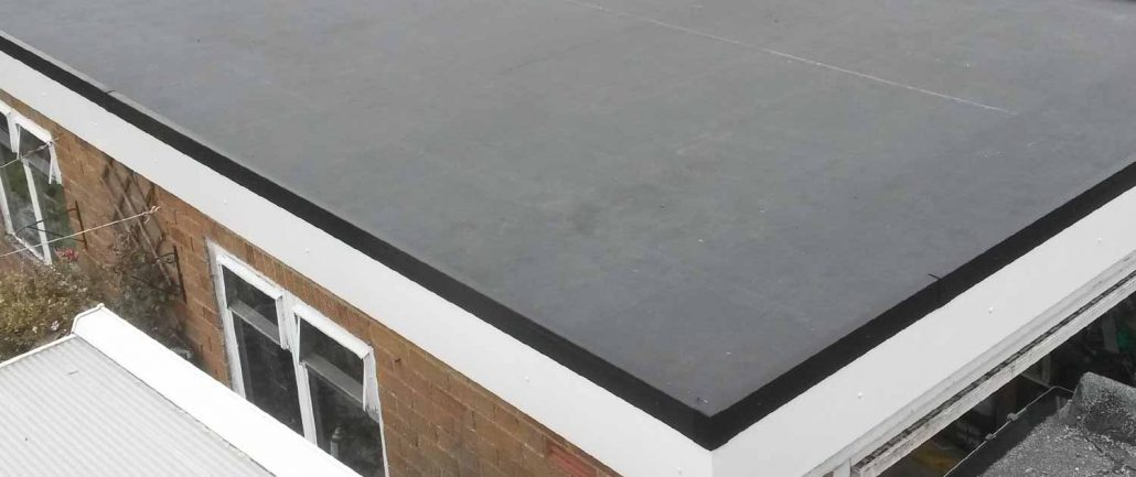 EPDM Flat Rubber Roof Halifax, Yorkshire